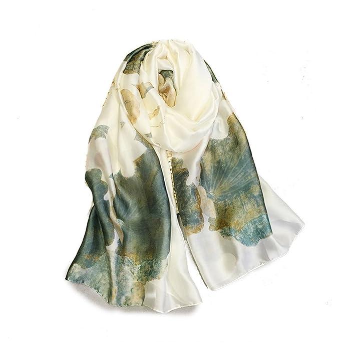 shanshan Pañuelo protector solar delgada toalla de playa multi-función párrafo largo chal fiesta de