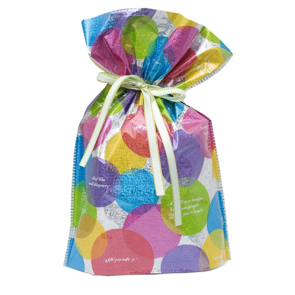 Gift mate 21013-9 - Bolsas de regalo (9 piezas, pequeñas, círculos)