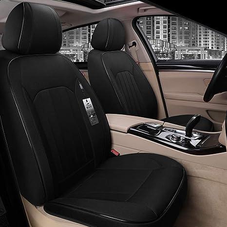 1 piel sintética negro taller ya referencia funda del asiento protección de referencia universal