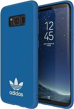 adidas Originals Moulded Case Handyhülle für Samsung Galaxy S8 BlauWeiß BluebirdWhite