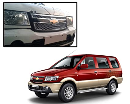 Autopearl Car Chrome Front Grill For New Chevrolet Tavera Amazon