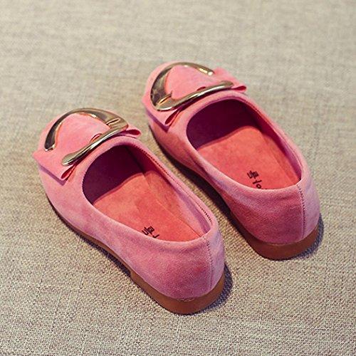 Hunpta Kleinkind Kinder Mädchen Baby Fashion Princess Button Sandalen Einzelner Schuh Rosa