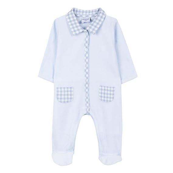 649ee34742c60c Absorba Boutique 9M54033, Pyjama Bébé garçon, (Bleu Ciel 41), 6 Mois ...
