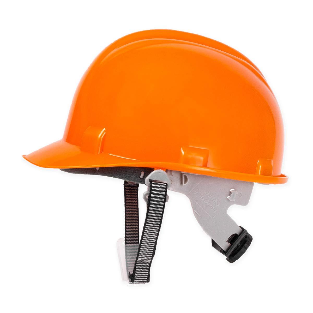Bauhelm Schutzhelme Helm Arbeitsschutzhelm Orange EN397 Lotex GmbH