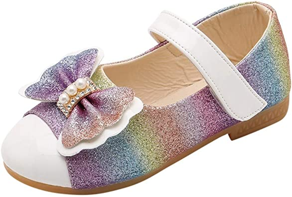 HoSaylike Chaussures de Princesse Fille 23 24 25 28 31 36