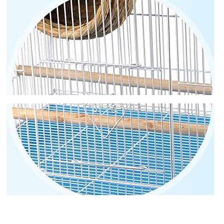 DWY Jaulas para pájaros Exquisita Jaula de pájaro de Hierro Gran ...