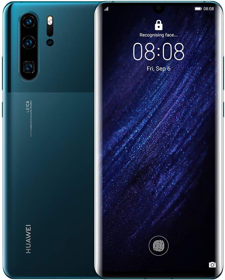 Huawei P30 Pro 128GB+8GB RAM (VOG-L29) 40MP LTE Factory Unlocked GSM Smartphone (International Version) (Mystic Blue)