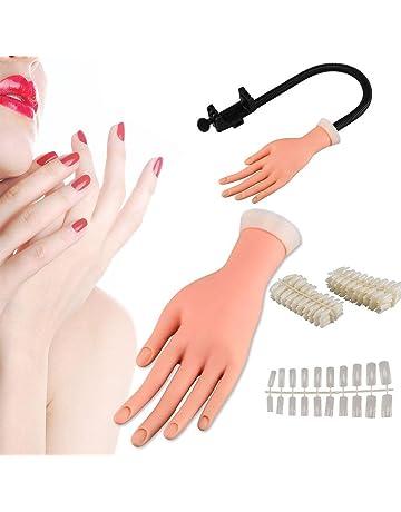 GSTONE - Gel de entrenamiento para uñas flexibles, diseño de mano de dedo, tamaño
