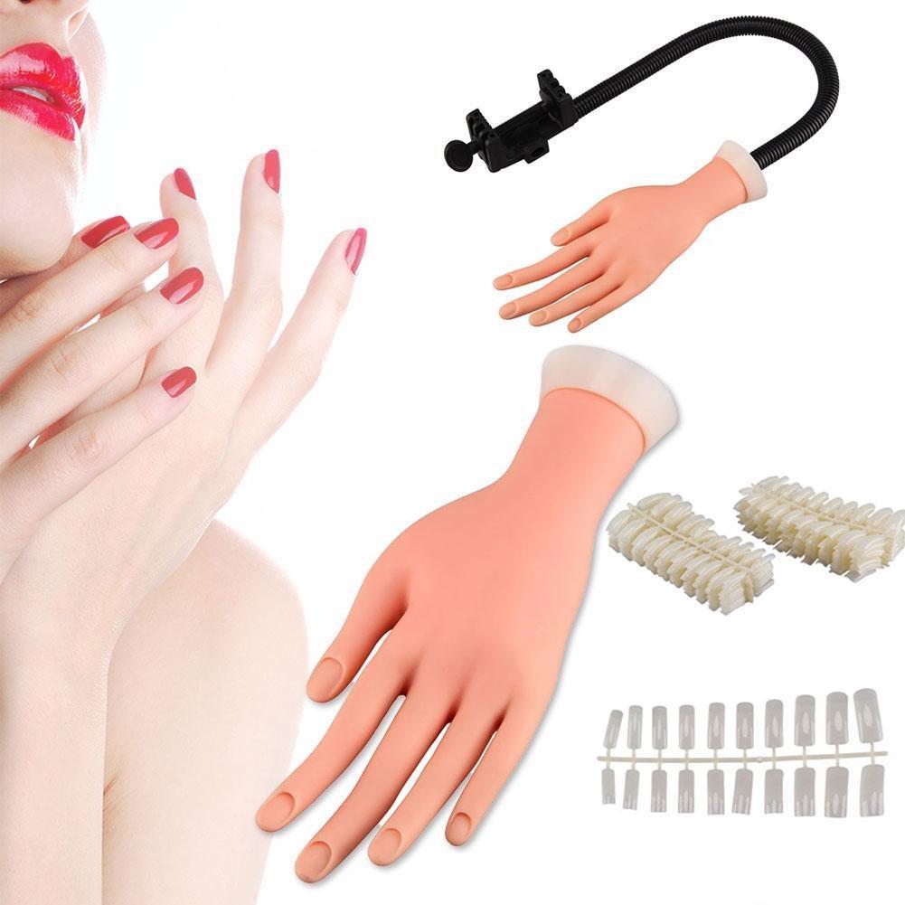 GSTONE - Gel de entrenamiento para uñ as flexibles, diseñ o de mano de dedo, tamañ o de mano diseño de mano de dedo tamaño de mano