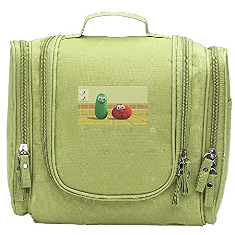 VeggieTales: Madame Blueberry Cosmetic Makeup Bag (Veggie Tales Hairbrush)