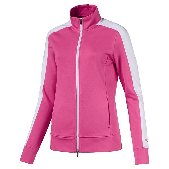 Puma 576149 Womens Track Jacket, Large, Carmine Rose Chaqueta de ...