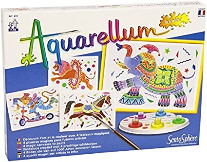 Amazon.com: Sentosphre 3900674 Aquarellum Junior Circus ...