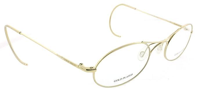 a397914458a Giorgio Armani GA 634 705 Gold 20th Anniversary Exclusive Edition Eyeglasses   Amazon.co.uk  Clothing