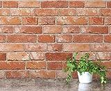 Vintage Brick Pattern Contact Paper Self-adhesive Peel-stick Prepasted Wallpaper (HSV632)