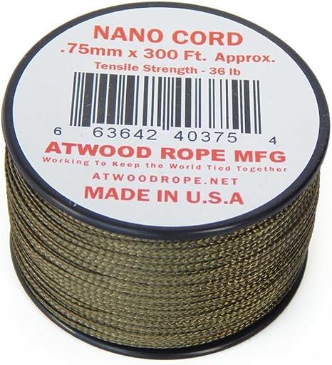 Braided Premium Nylon Parachute Cord RG1150 Nano Cord Multi-Cam 75mm x 300ft