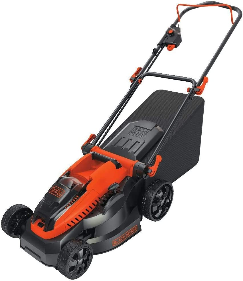 BLACK+DECKER CM1640 16-Inch Cordless Mower, 40-volt (Renewed)