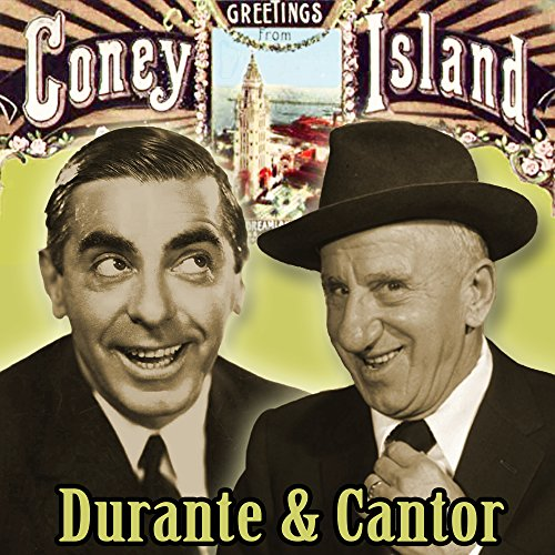 Greetings from coney island durante and cantor by jimmy durante greetings from coney island durante and cantor m4hsunfo