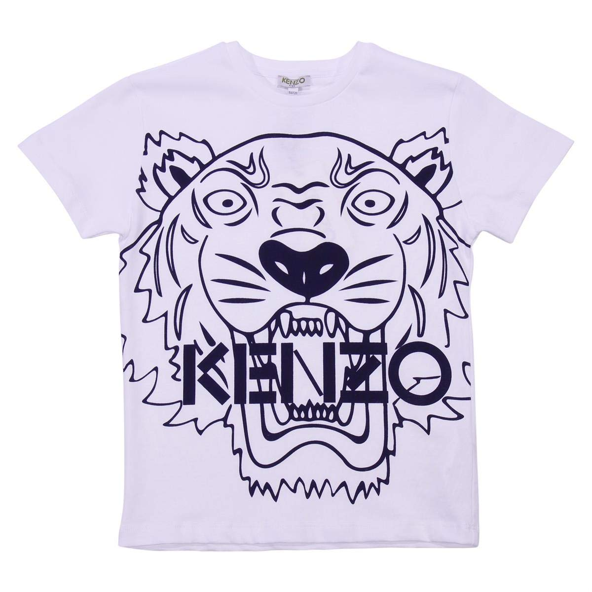 b68e47fc Top1: Kenzo Kids Mens Tee Shirt Classic Tiger (Toddler/Little Kids)