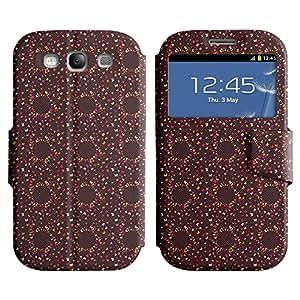 LEOCASE mariposa surtidos Funda Carcasa Cuero Tapa Case Para Samsung Galaxy S3 I9300 No.1004019