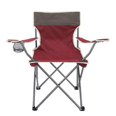 ZAIHW Silla de Camping Soporte ergonómico de Respaldo Alto ...