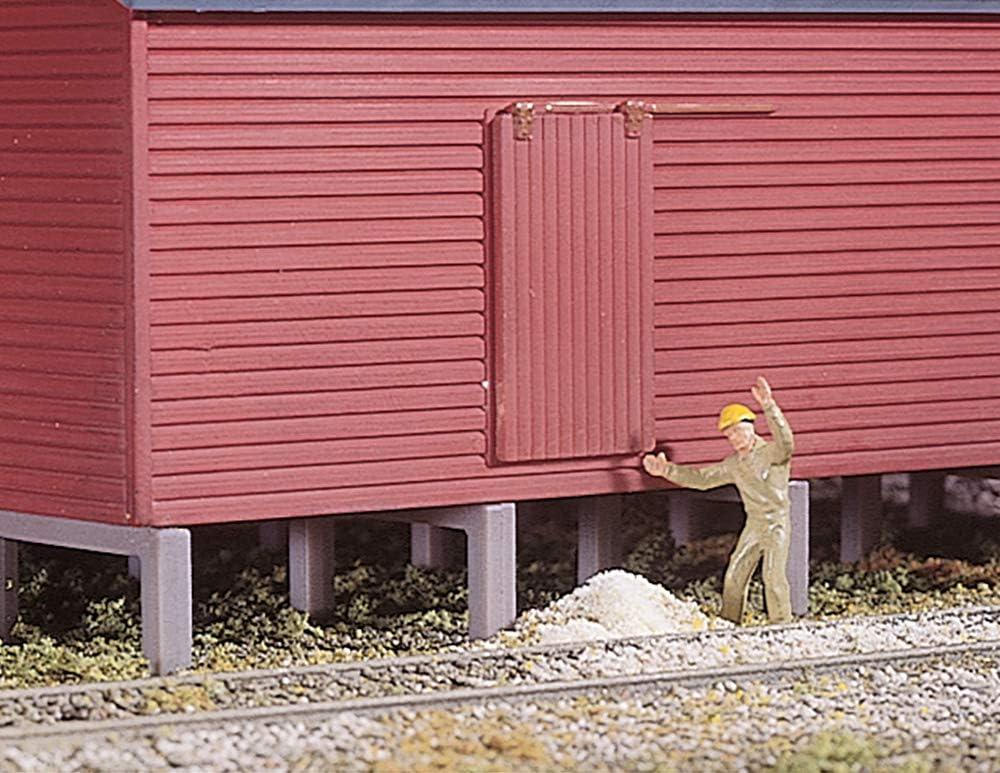 Amazon.com: Walthers, Inc. op Rural Grain Elevator Kit: Toys & Games