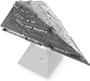 iHome Star Wars Villain Destroyer Flagship Portable Rechargeable Bluetooth Wireless Speaker, Gray (Non-Retail Packaging)