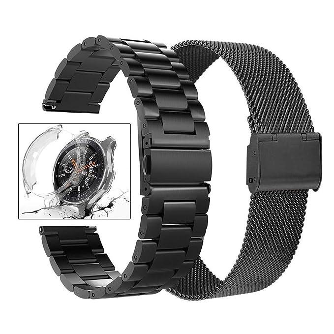 Minfex - Correa de Repuesto para Samsung Galaxy 42 mm/Gear S2 ...