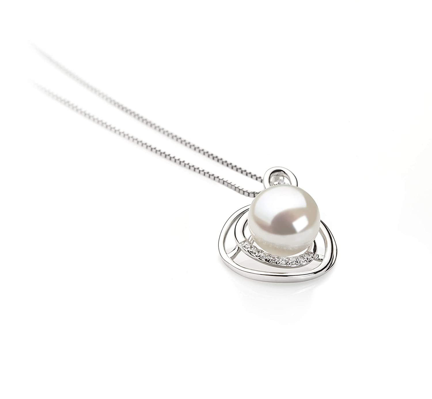 Kelly 9-10mm AA Quality Freshwater 925 Sterling Silver Cultured Pearl Pendant For Women