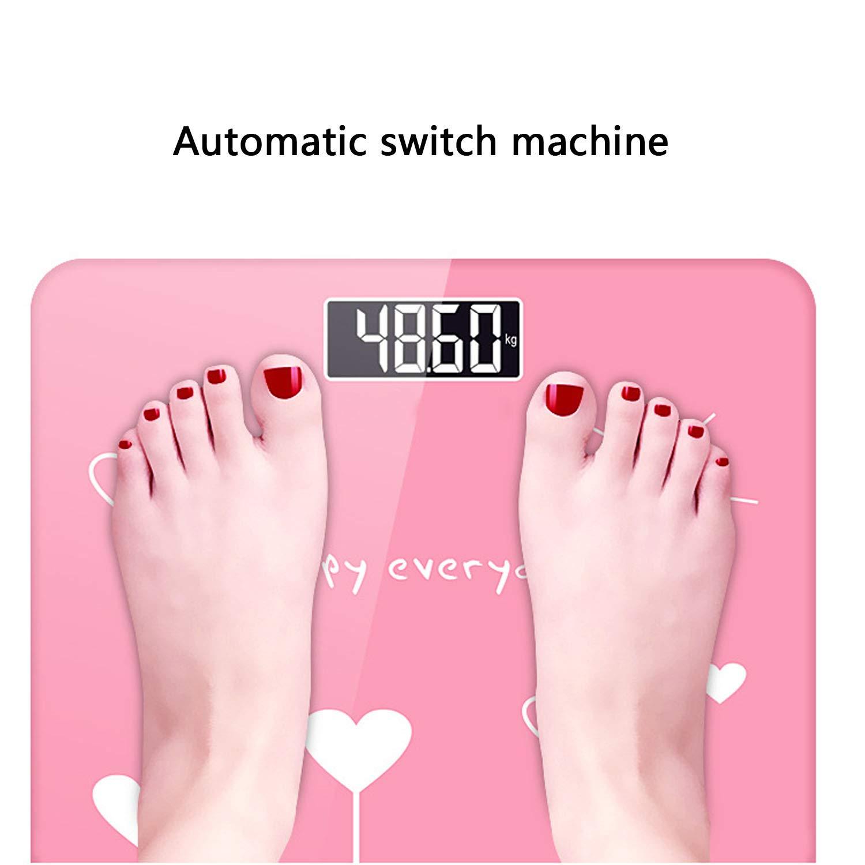 YUNDING Elektronische Gewichtswaage, Gewichtswaage, Elektronische Aufladung, 180 kg, Hintergrundbeleuchtung hohe Präzision 749c2c