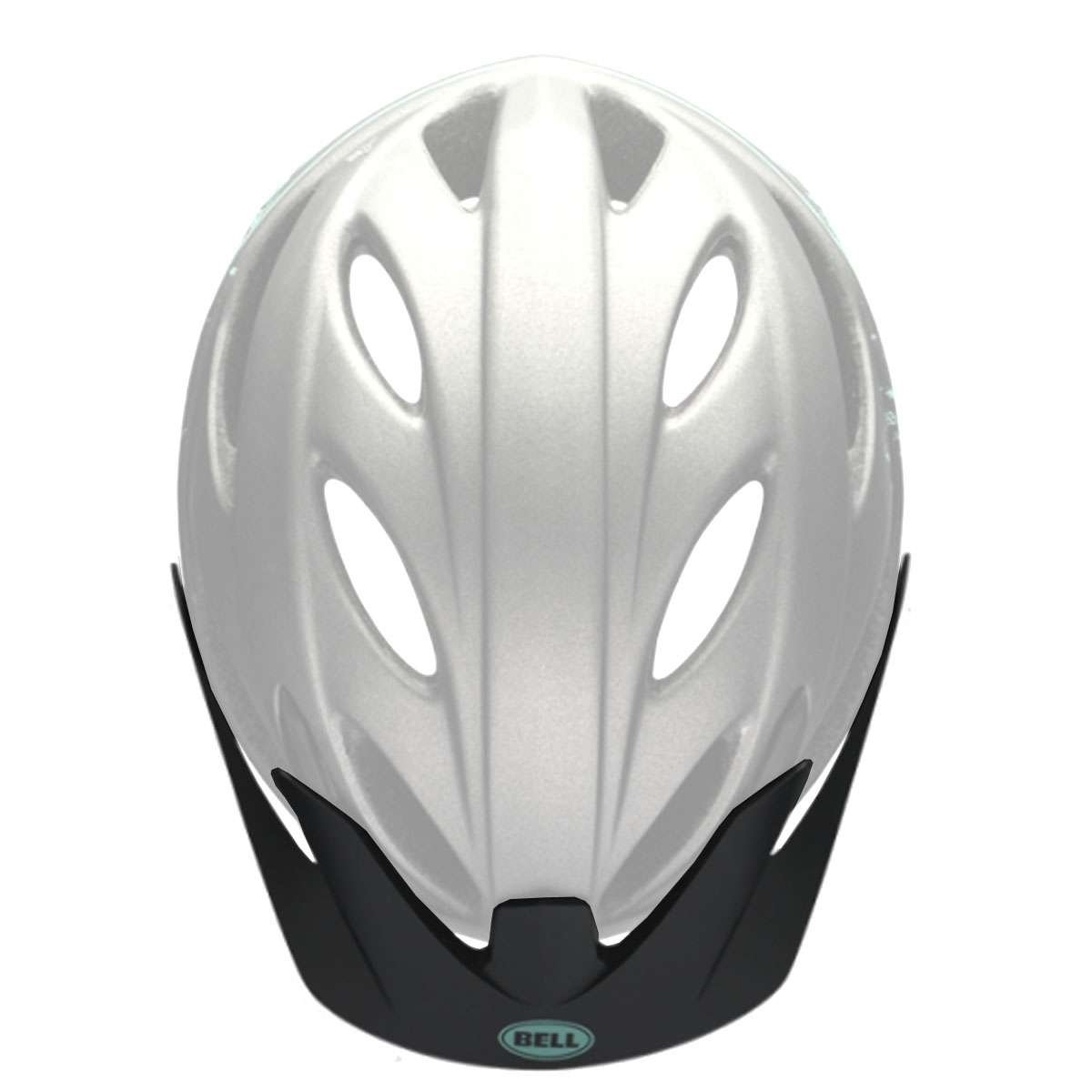 Bell Sports Strut Bicycle Helmet - Replacement Visor - Matte Gunmetal/Mint Sonic - 8047358