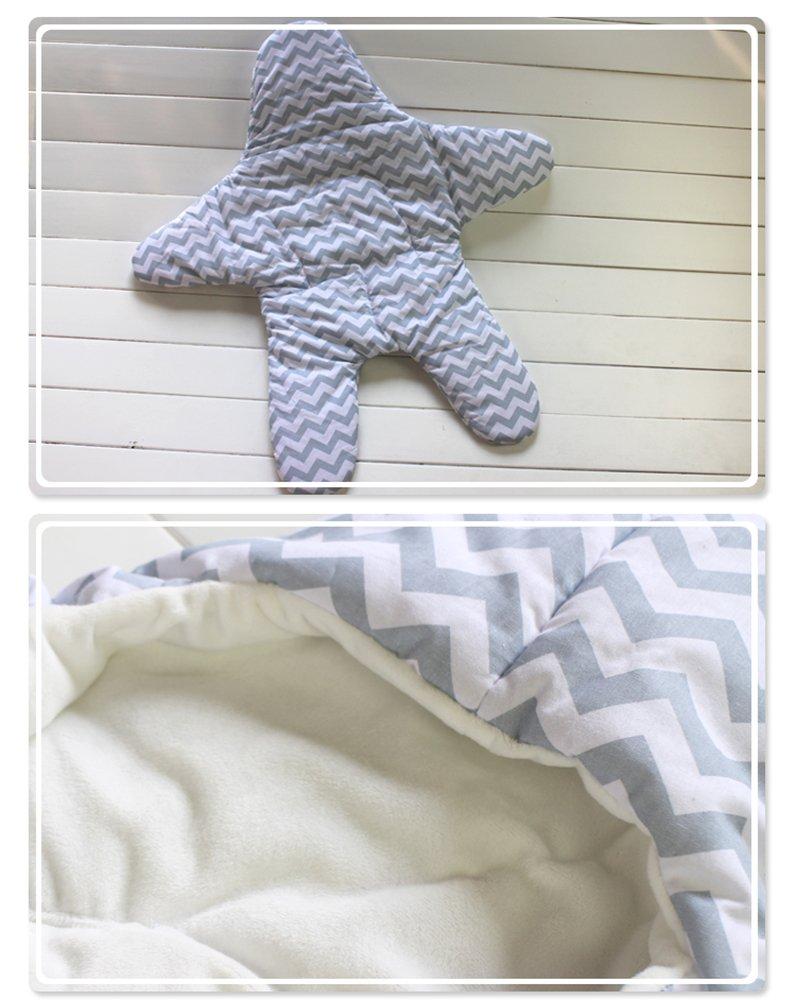 Gris Detective Dizzy Estrella de mar lindo beb/é saco de dormir para 0-1 a/ño