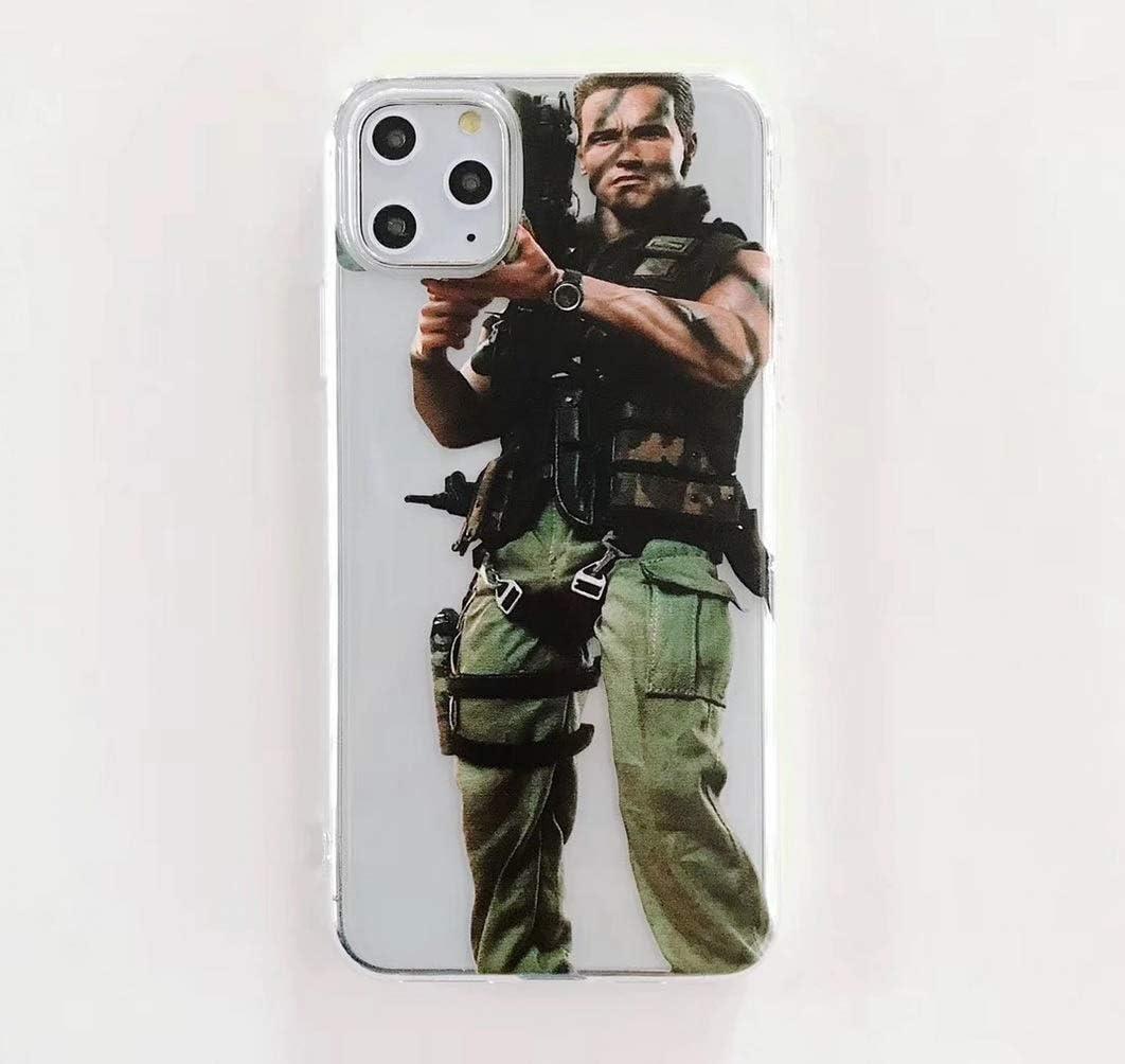 iPhone 11 Pro Endless Prints Details about Funny MEME Schwarzenegger Commando Phone Cover Case for Iphone 11