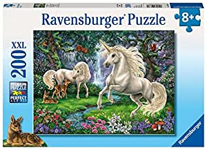 Ravensburger Mystical Unicorns Puzzle 200pc,Children's Puzzles