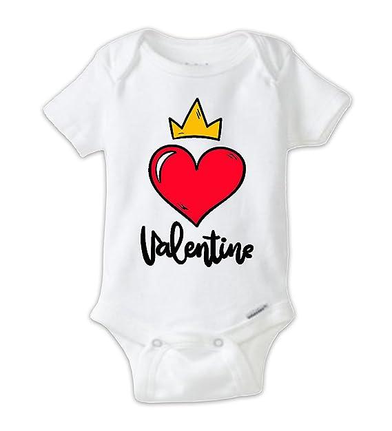 Amazon Com Juju Apparel Valentine Heart Crown Baby Bodysuit