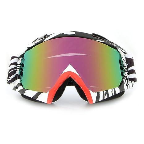 Motociclette Occhiali Fuori Strada Sci Occhiali Da Vista Guida Outdoor Occhiali Da Nebbia,H-OneSize