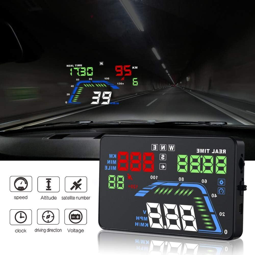 YICOTA Car HUD GPS Head Up Display 5.5