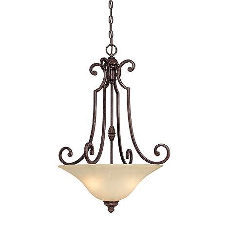 Amazon.com: CAPITAL iluminación 3584 Barclay 3 luz Tazón en ...
