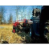 Yutrax-TX158-BlackRed-Trail-Warrior-X2-ATV-Utility-Trailer