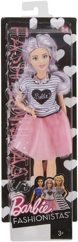 Amazon.es: Barbie - Fashionista, muñeca con tutú Rosa (DVX76 ...