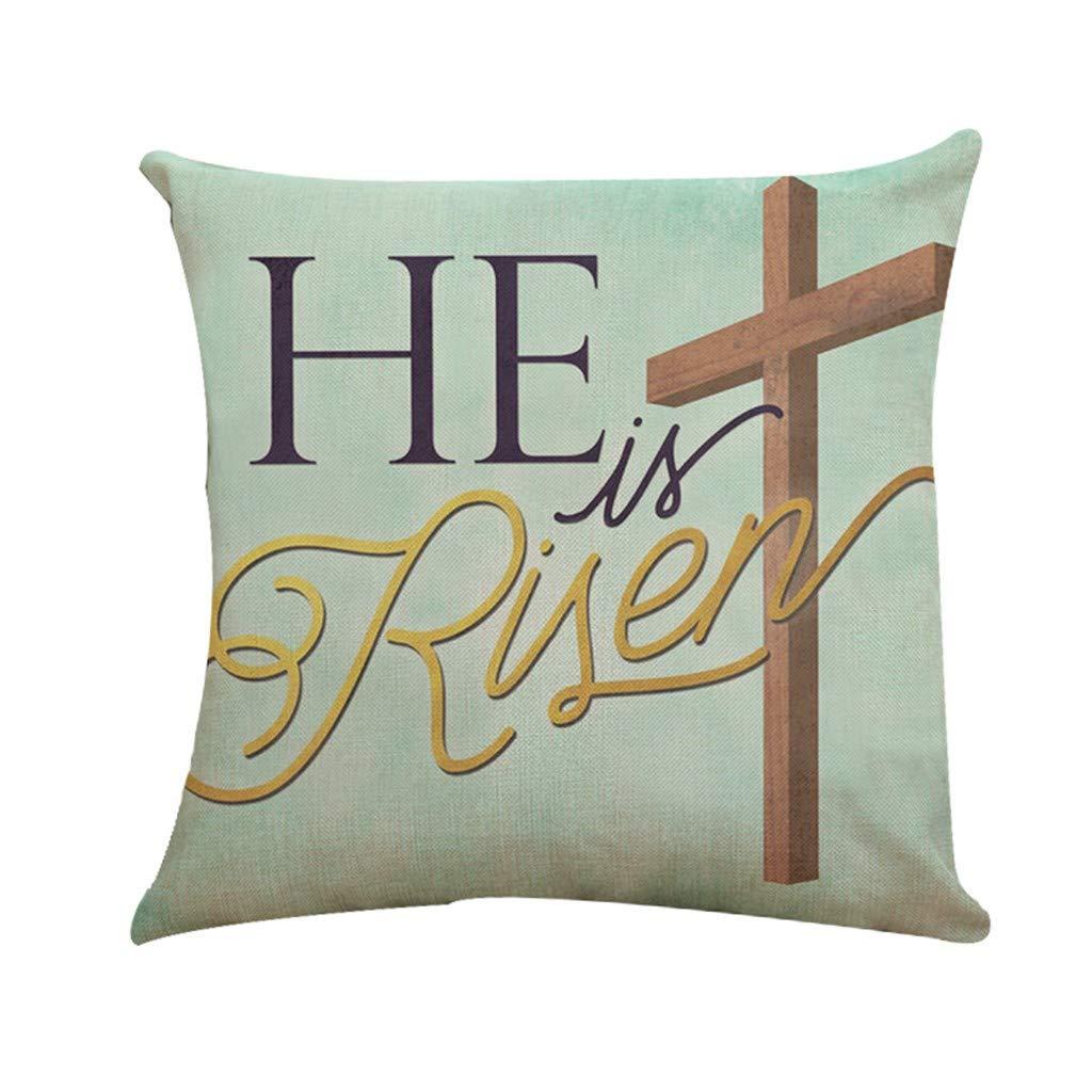 Amazon.com: Lywey 2019 Fashion Print Pillow Case Polyester Sofa Car Cushion Cover Home Decor: Beauty