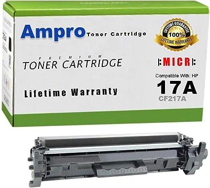 Ampros CF217A MICR Toner o 17A MICR Toner Cartucho de Repuesto ...