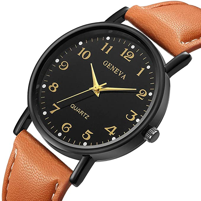 Darringls_Reloj Geneva,Reloj de Cuarzo de aleación analógico Casual ...