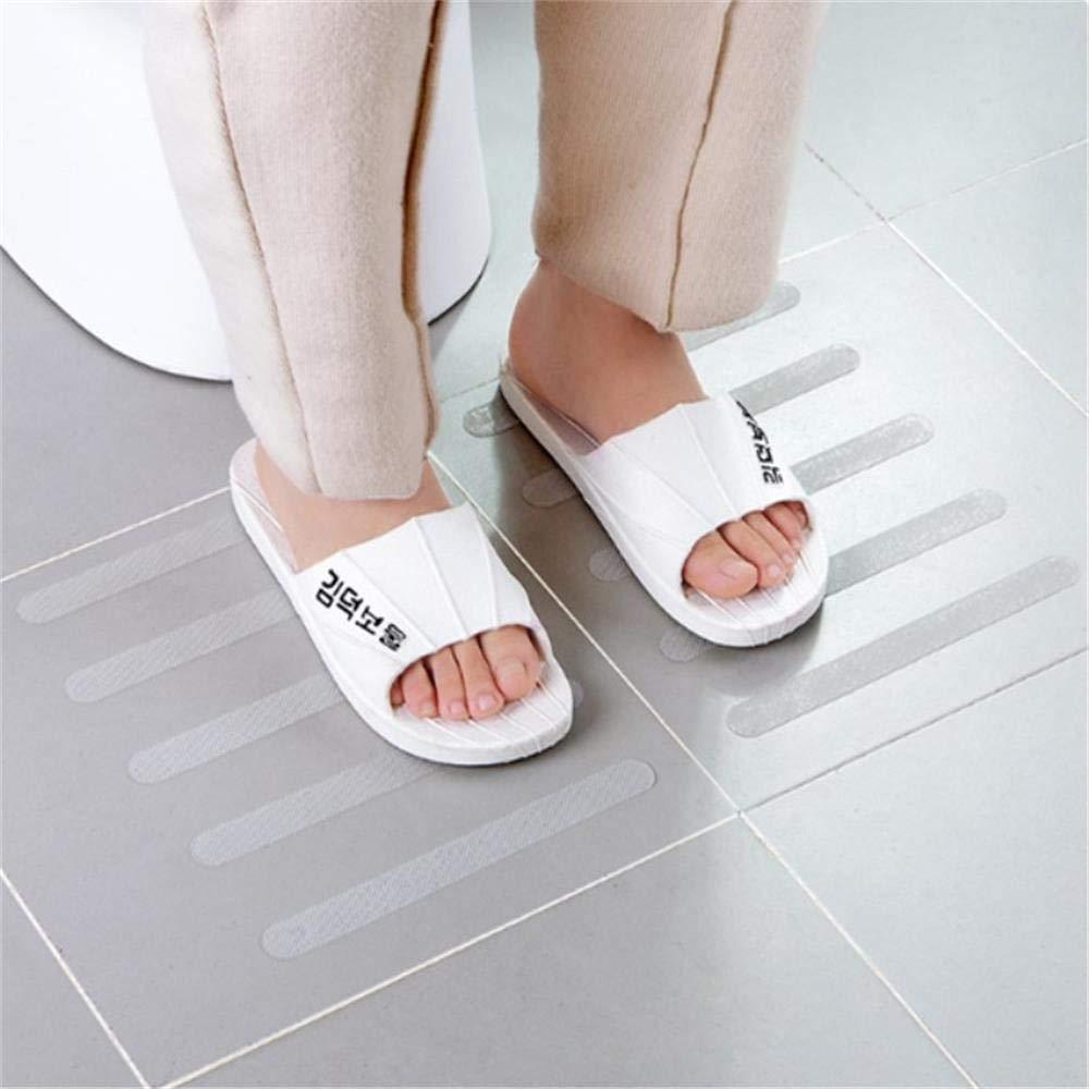 YoYoly 12Pcs/6pcs Multifunction Premium Home Kitchen Bathroom Anti Slip Bath Grip Stickers Non Slip Shower Strips Flooring Safety Tape (B-6Pcs)