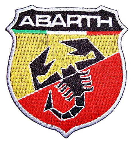 fiat-abarth-500-motors-cars-autos-racing-sign-patch-sew-iron-on-logo-embroidered-badge-sign-emblem-c