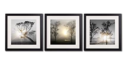 Amazoncom Black And White Wall Art Painting For Living Room Decor