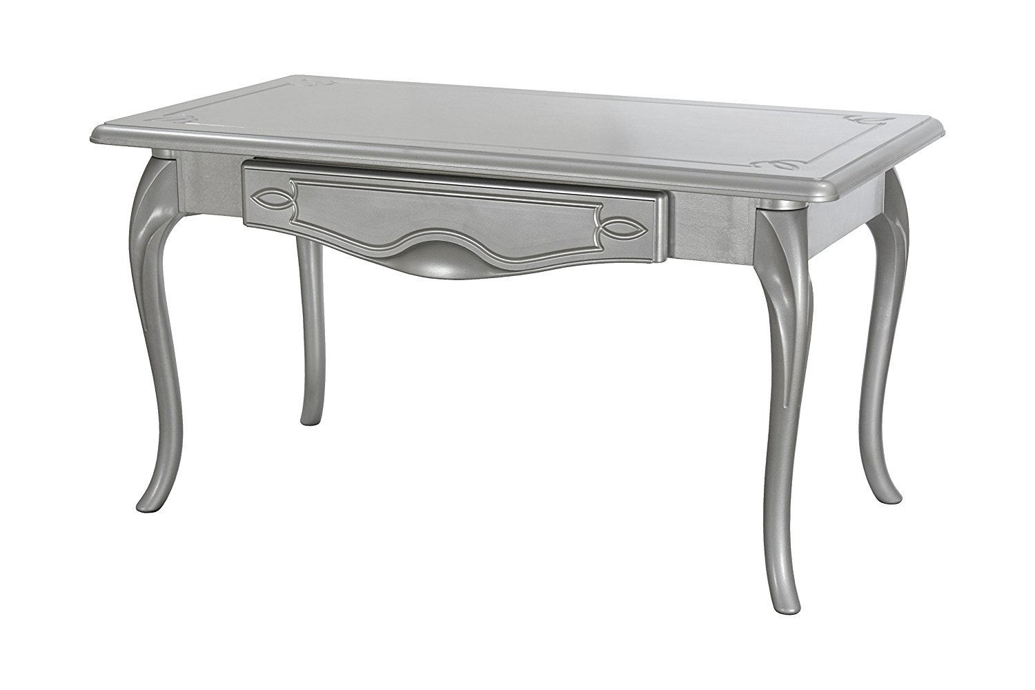 High Street Design Coffee Table with Cabriole legs and hand finished in Cream. 13254