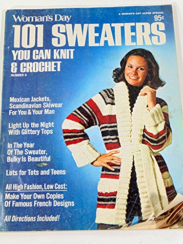 Womans Day 101 Sweaters - Woman's Day 101 Sweaters You Can Knit & Crochet Number 8