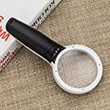 Globalstore 10X Lighted Magnifying Glass 3Inch