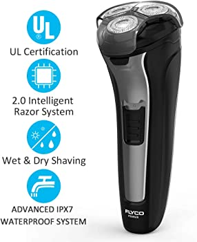 Flyco Men's 2-in-1 Wet/Dry Electric Razor