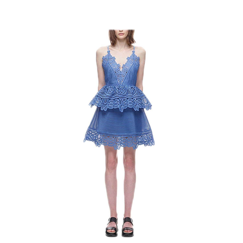 Amazon.com: Paule Trevelyan NEW moda de nova lace sexy Cruz vestido Vestido Do Laço do vintage plissado backless verão vestido curto strapless slim vestido ...